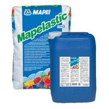 Гидроизоляционный состав Мапеластик (Mapelastic 32kg)